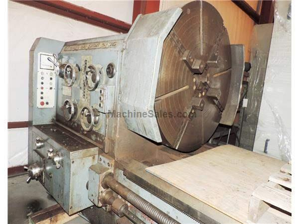 "48"" x 360"" Geminis Engine Lathe Model GE-1200-3G"