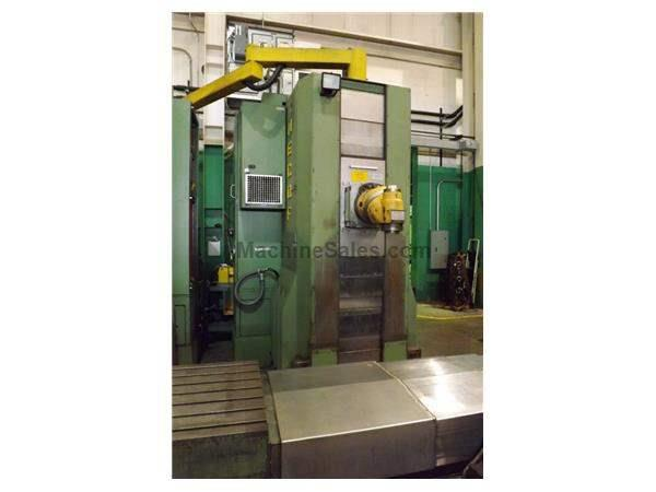MECOF CR15 HORIZONTAL BORING MILL (2000) (3 Available)