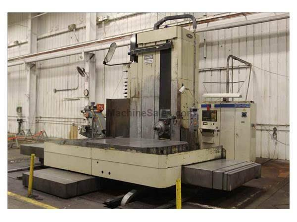 TOSHIBA BTD-13R22 4-AXIS CNC HORIZONTAL TABLE TYPE BORING MILL (1995)