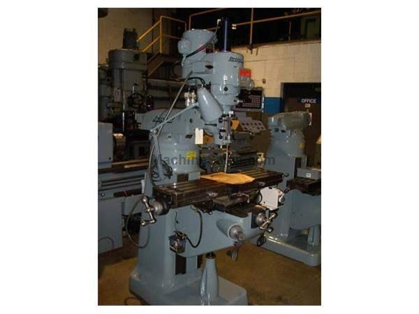 Bridgeport Vertical Mill 2.0 HP 2J 48 (late 1980'S) Remanufactured with