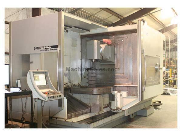 Deckel Maho DMU-125P CNC Horizontal Machining Center W/ Tool Changer (2002)