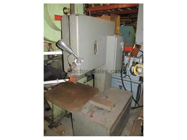 GROB MODEL 4V-24 VERTICAL BAND SAW