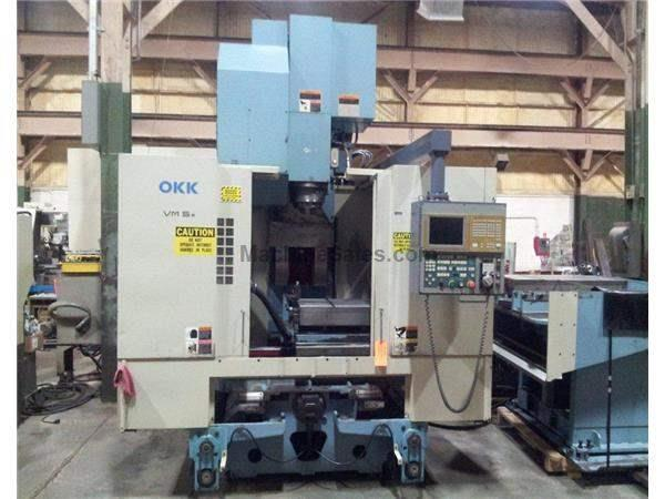 OKK VM5-II 50 TAPER CNC VERTICAL MACHINING CENTER W/APC (1999)