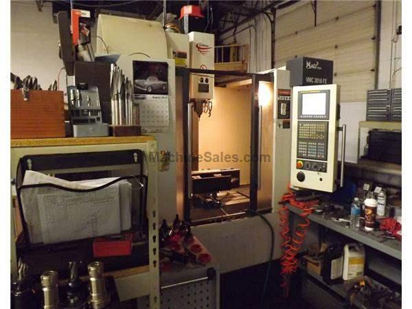 Fadal VMC 3016-FX CNC Vertical Machining Center (2008)