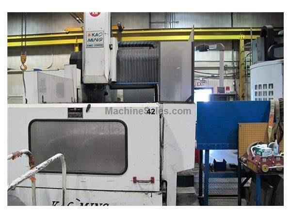Kao Ming KMC-2000SD Bridge Type Vertical Machining Center (1997)