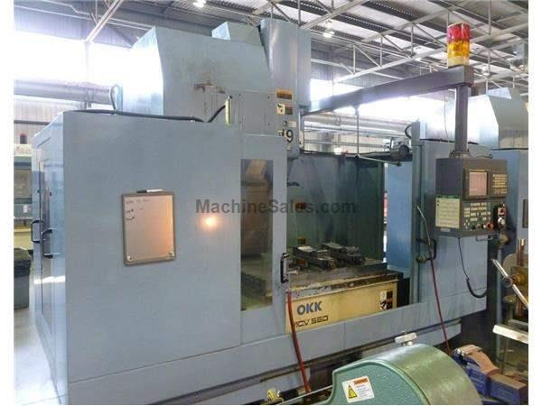 OKK MCV 560 CNC Vertical Machining Center (2000)