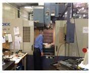 OKK Model VM 7 3 Axis Geared Head Vertical Machining Center (2002)