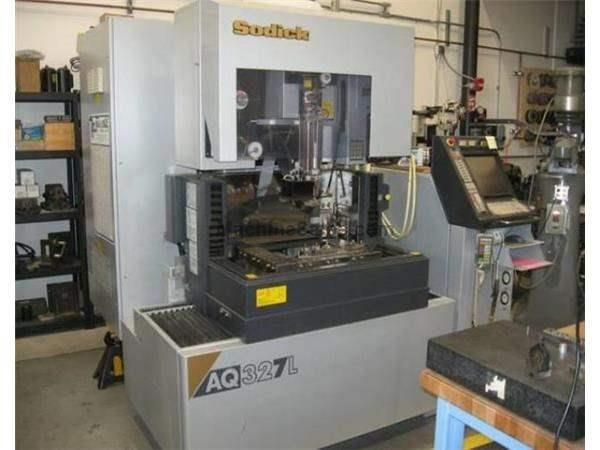 SODICK, AQ327L, CNC CONVENTIONAL ELECTRIC DISCHARGE MACHINE NEW: 2006