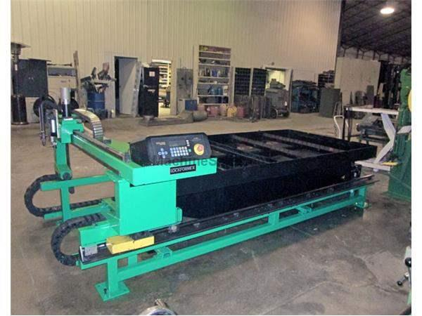 5' x 10' Lockformer Vulcan 2900 CNC Plasma Table, 1997, 100 Amp