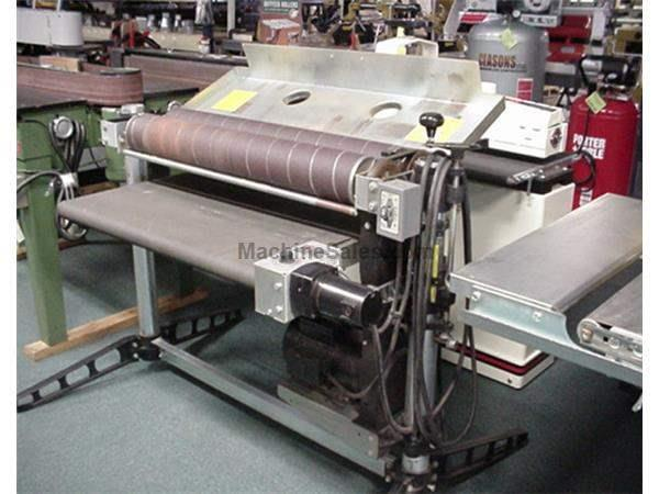 "Drum Sander 37""x2 5/1 Prformax, 5 HP, 230v 1 ph"