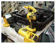 Combo Pack, cordless drill/driver, light, saw all