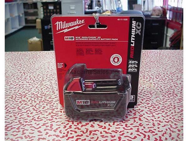 Milwaukee cordless batteries