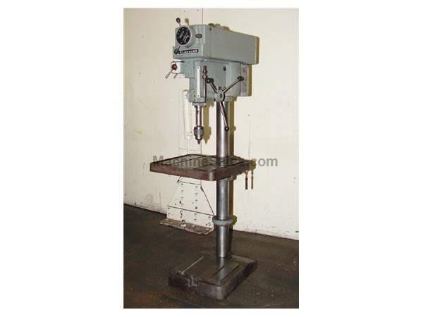 "CLAUSING 20"" MODEL 2277 VARIABLE SPEED DRILL PRESS (1990s)"