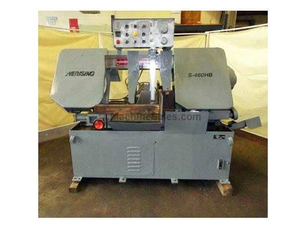 "Eversing 18"" x 18"" Horizontal Automatic Bandsaw Model S-460HB (19"