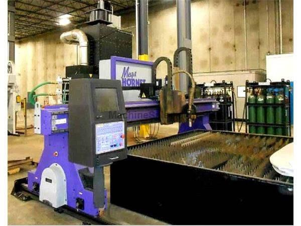 MEGA HORNET CNC PLASMA CUTTER with (2) 800 Amp Hypertherm Plasma Units (201