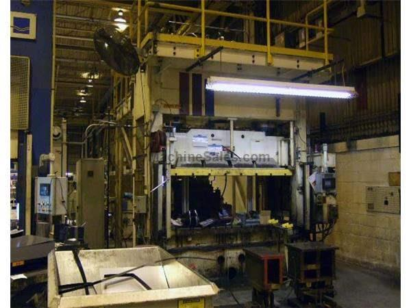Pacific 200 Ton Down Acting Hydraulic Press #200 D8-48 (1995)