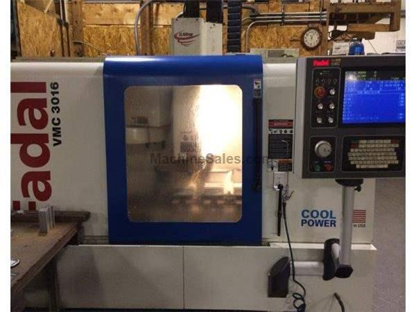 FADAL, VMC-3016, CNC VERTICAL MACHINING CENTER NEW: 2005
