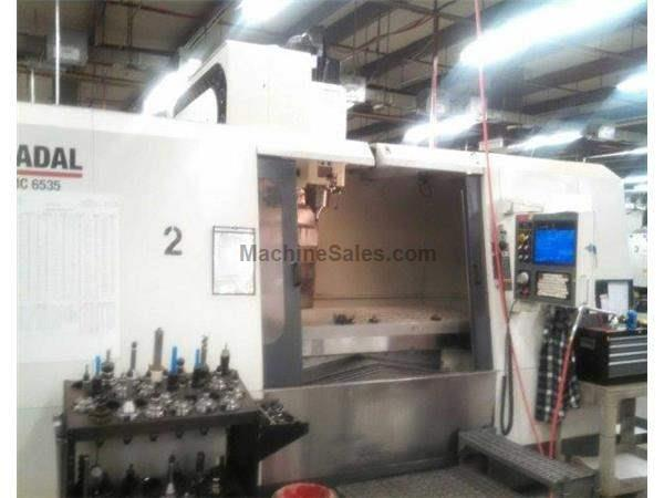FADAL, VMC 6535-50, CNC VERTICAL MACHINING CENTER NEW: 2007