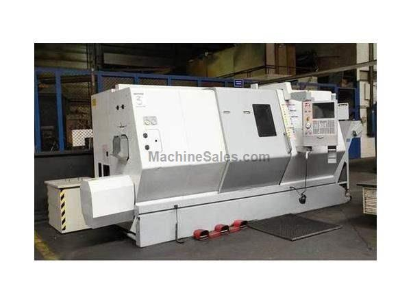 "25.5"" X 40"" HAAS SL-40T 4.6"" BORE 3-AXIS CNC TURNING CENTER"