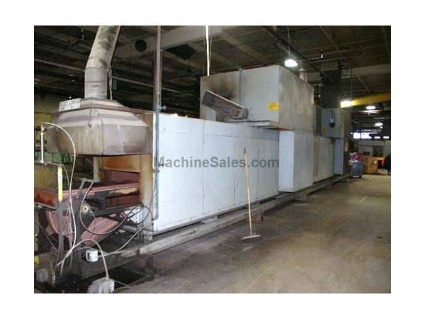 "DESPATCH BELT OVEN, 24""W 40'L 18""H, GAS FIRED, 2 ZONE, 650 F"