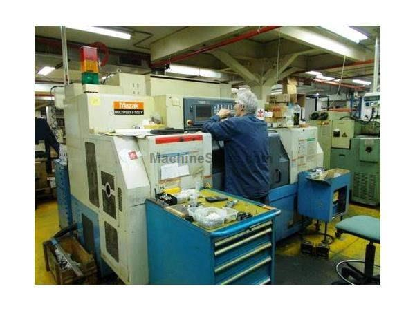 MAZAK MULTIPLEX 6100Y MULTI-AXIS DUAL SPINDLE TURNING CENTER