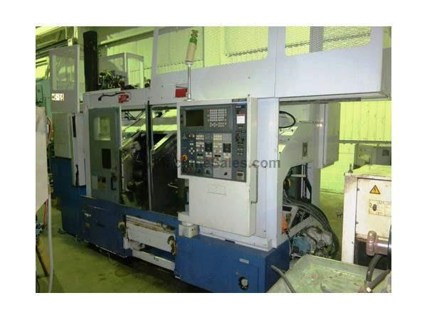 MORI SEIKI DL-15 TWIN SPINDLE CNC TURNING CENTER WITH GANTRY LOAD SYSTEM