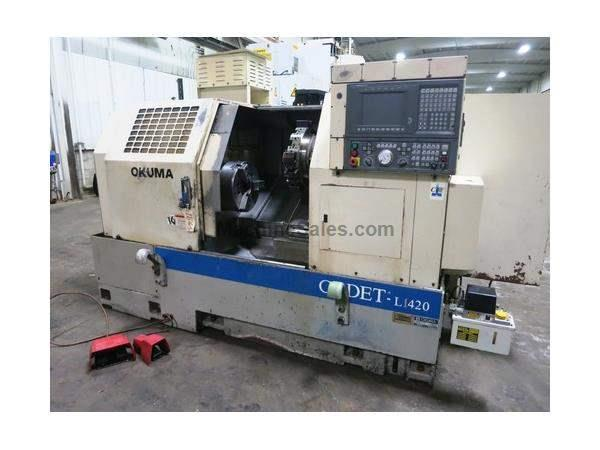 OKUMA CADET L1420 2-AXIS CNC TURNING CENTER LATHE