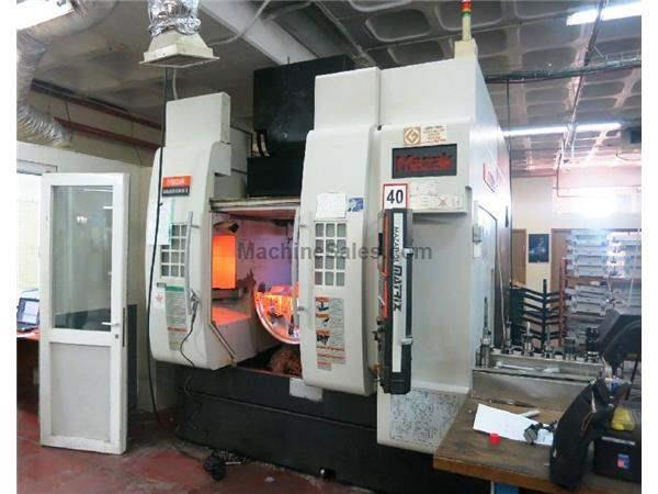 MAZAK VARIAXIS 630-5X II 5-AXIS PRECISION VERTICAL MACHINING CENTER