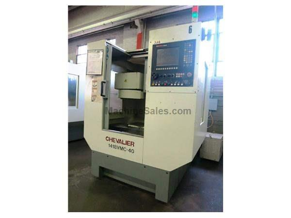 CHEVALIER 1418 VMC-40 3-AXIS VERTICAL MACHINING CENTER