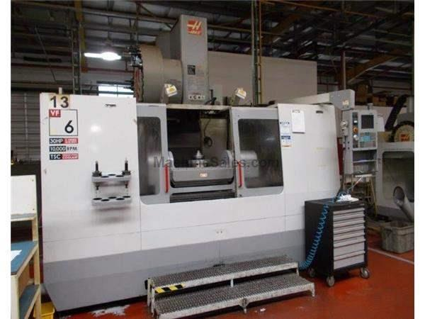Photograph HAAS VF6-50 5-AXIS PRECISION VERTICAL MACHINING CENTER