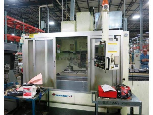 KITAMURA MYCENTER 3 APC 3-AXIS CNC VERTICAL MACHINING CENTER WITH PALLET CH