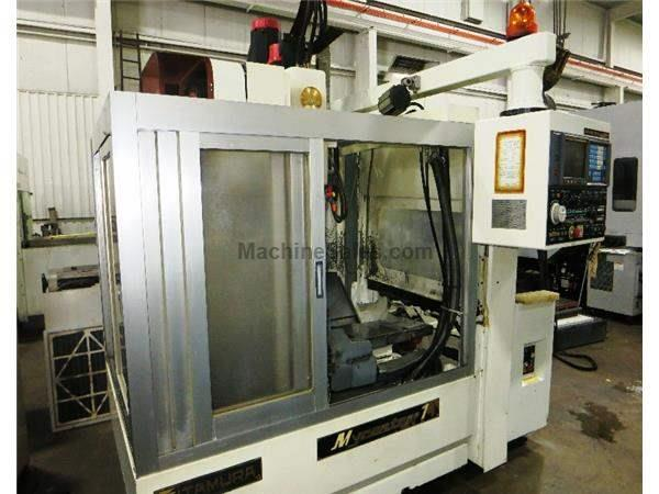 KITAMURA MYCENTER 1 APC CNC VERTICAL MACHINING CENTER WITH HIGH SPEED AUTOM