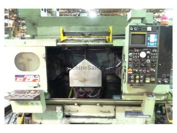 1989 OKUMA HOWA 2SP-3H RECOND. 2010 CNC TWIN SPINDLE TURNING CENTER