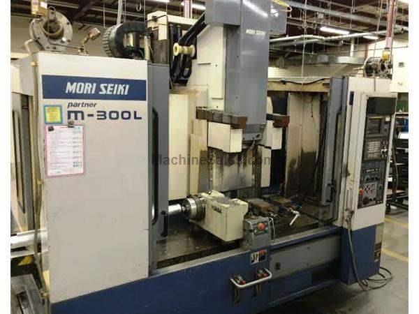 1999 Mori-Seiki M-300L  Partner CNC Vertical Machining Center