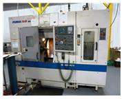 DAEWOO PUMA 160 GT 2-AXIS CNC GANT TYPE TURNING CENTER WITH GANTRY ROBOT