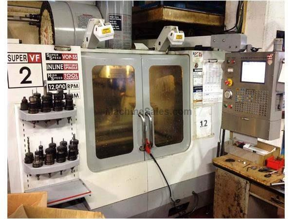 HAAS VF-2SS 5-AXIS SUPER SPEED VERTICAL MACHINING CENTER