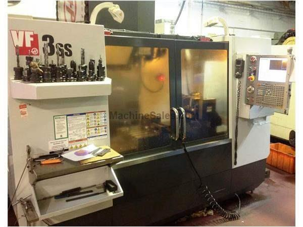 HAAS MODEL VF-3SS 5-AXIS PRECISION CNC VERTICAL MACHINING CENTER