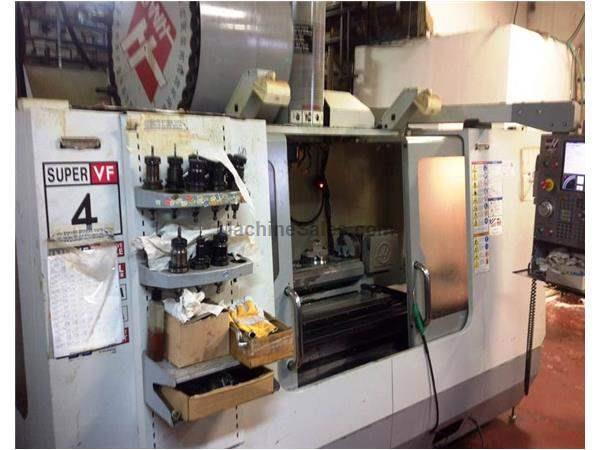 HAAS MODEL VF-422 5-AXIS PRECISION CNC VERTICAL MACHINING CENTER