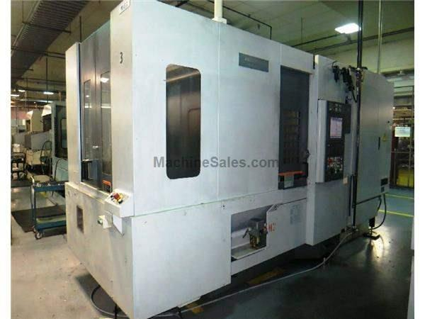 MORI SEIKI MODEL NH5000 CNC PRECISION HIGH SPEED HORIZONTAL MACHINING CENTE