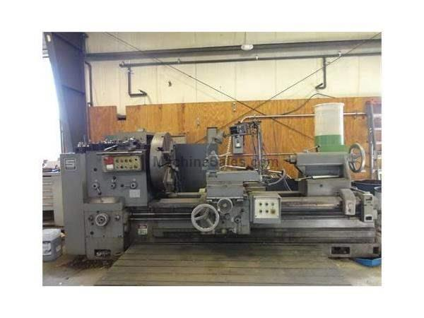 "40""/52"" X 80"" SUMMIT HEAVY DUTY GAP BED ENGINE LATHE, MODEL"
