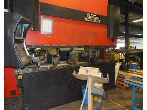 187 TON AMADA #HFB 1703 8 AXIS HYDRAULIC CNC DOWNACTING PRESS BRAKE