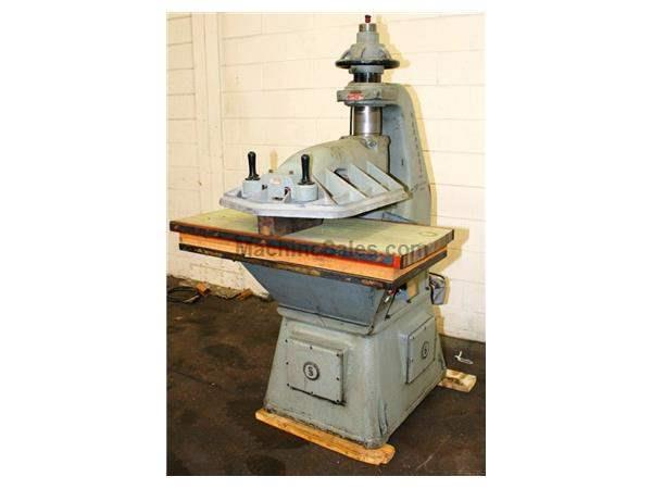 25 Ton Herman-Schwabe D CLICKER DIE CUTTING PRESS