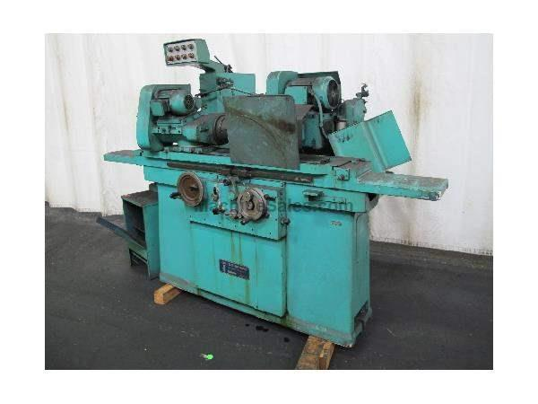 "10"" Swing 27"" Centers Jones & Shipman 1300 OD GRINDER, swing around i.d., hyd. Table, auto infeed, plunge"