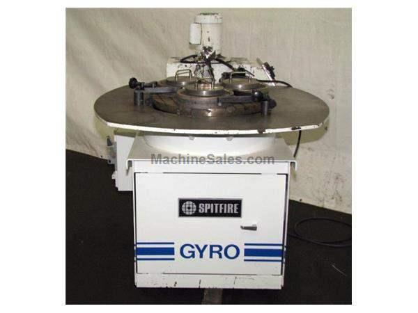 "24"" Dia. Spitfire SP-GYR/3-24CCA LAPPING MACHINE, OPEN FACE, CROSS HATCH LAPPING PLATE, COND. RINGS"