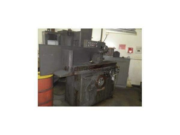 "8"" Width 24"" Length Thompson 2F SURFACE GRINDER, AUTO IDF, 3X AUTO FEEDS, EMC, DRESSER, COOLANT"