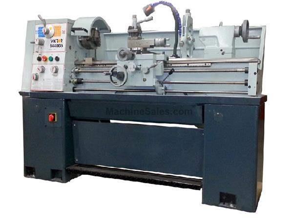 "14"" Swing 40"" Centers Victor 1440GS w/Special Package ENGINE LATHE, D1-4 with 1-1/2"" bore; 16 spds; 3 HP (2-speed) 3ph"