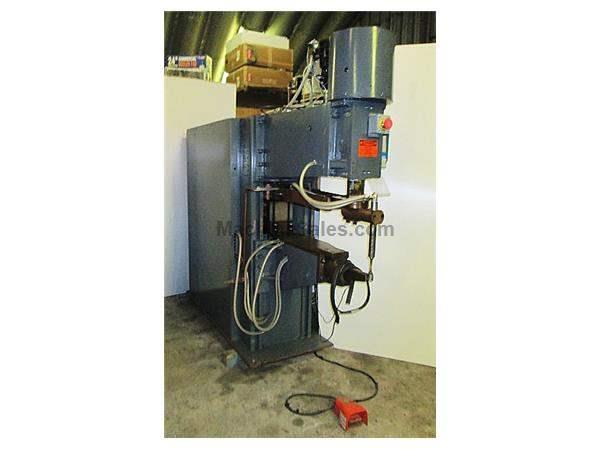 "90 KVA 36"" Throat Sciaky PMCO.25TQ SPOT WELDER, Unitrol Solution Control"