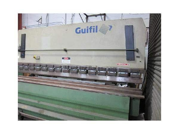 "110 Ton 120"" Bed Guifil PE30-100 PRESS BRAKE, Upacting Brake with Dies"