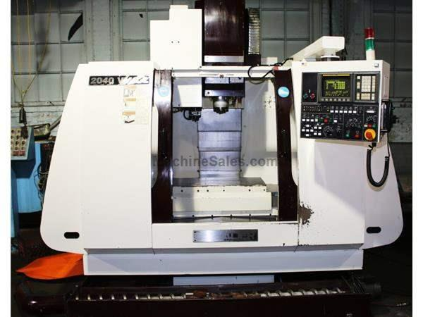 "40"" X Axis 20"" Y Axis Chevalier ML2040VMC-L VERTICAL MACHINING CENTER, Fanuc OM Control, Box Ways, 24 ATC,10 HP"