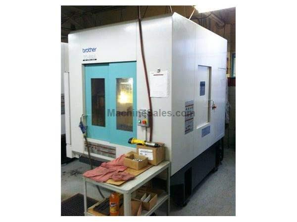 "21.6"" X Axis 13.7"" Y Axis Brother TC 32A VERTICAL MACHINING CENTER, Dual Pallet 16,000 RPM Spindle"